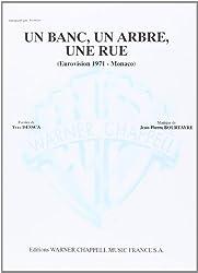 Severine Un Banc Un Arbre Une Rue Voice & Piano Book