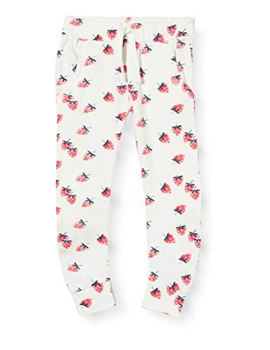 Imps & Elfs G Slim Fit Pants Barrydale AOP Pantalon, Écru (Marshmallow P157), 86 Bébé Fille