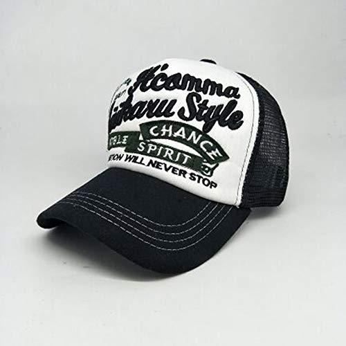 Honkbalpet cap muts borduurletters baseballpet zomer katoenen muts voor vrouwen en mannen merk snapback Lovers net cap verstelbaar