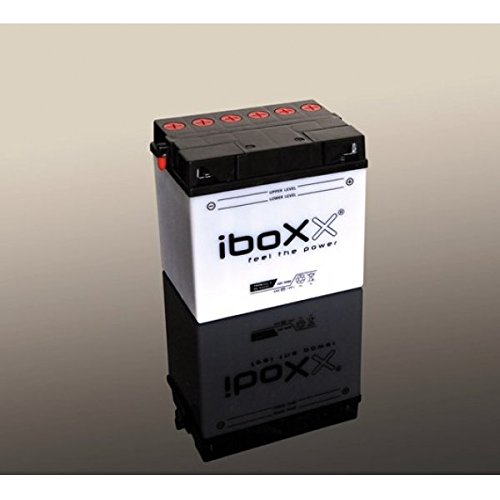 Iboxx Motorrad Batterie YB7-A, 12 Volt, 8 Ah, inkl Säurepack für Kreidler Dice 125 SM, Bj. 2016