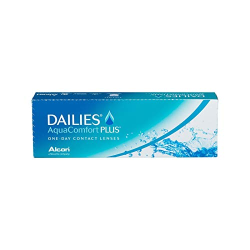 Dailies AquaComfort Plus Tageslinsen weich, BC 8.7 mm/DIA 14.0 mm / +6.5 Dioptrien, 30 Stück