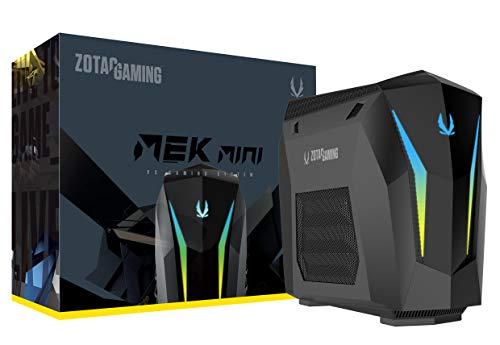 ZOTAC Gaming Mek Mini Gaming PC, GeForce RTX 2070 Super 8GB GDDR6, 8-Core Intel Core i7-9700, 16GB DDR4/240GB Nvme SSD/2TB HDD/Windows 10 System, GM207SC7R1B-U-W2B