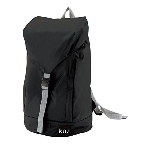 ワールドパーティー(Wpc.) キウ(KiU) レインバックパック  ブラック 黒  one size  レディース メンズ ユニセックス 収納可能 K37-900