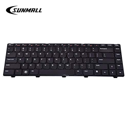Sunmall Keyboard Replacement With Black Frame Compatible With Dell Vostro 1540 1550 2520 3330 3350 3450 3460 3550 3555 Buy Online In Dominica At Dominica Desertcart Com Productid 43550089