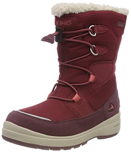 Viking Unisex-Kinder TOTAK GTX Outdoor Fitnessschuhe, Wine/Dark Red, 32 EU