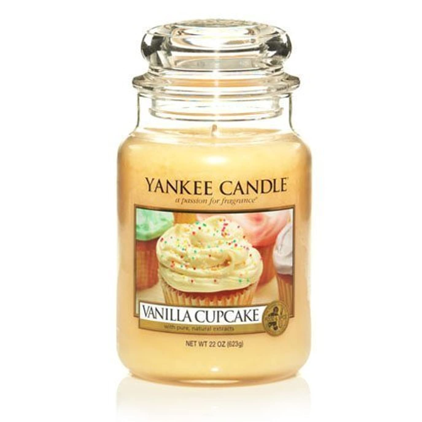 精査する好戦的なモジュールLarge Yankee CAndle Jar Vanilla Cupcake by Yankee Candles [並行輸入品]