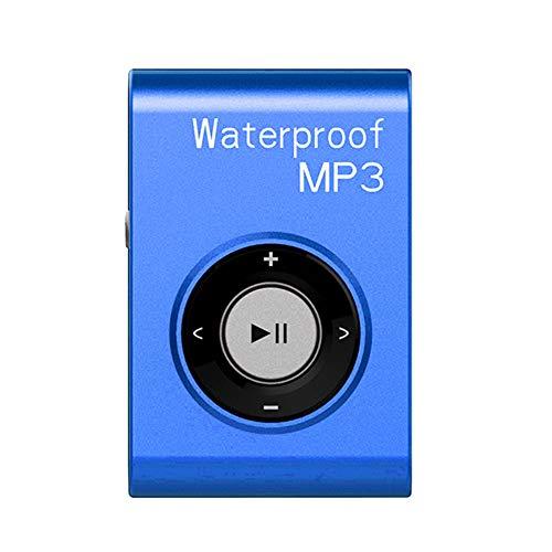 GZCRDZ IPX8 - Lettore MP3 da nuoto, impermeabile, 8 GB, con radio FM, cuffie Hi-Fi per immersioni, surf, sport subacquei, corsa