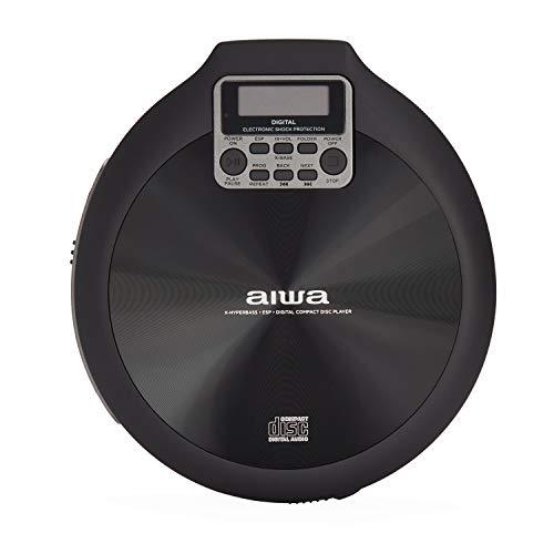 Reproductor de CD AIWA PCD-810BK Color Gris y Negro