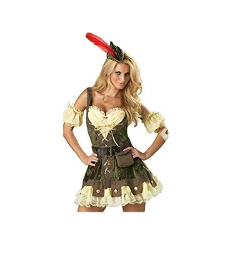 Top Totty - Costume da Robin Hood per Halloween e Cosplay Multicolored 38/40 IT/M