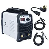 ARC Welder 160Amp Digital Inverter IGBT MMA Welder 110/220V Dual Voltage Hot Start Portable Stick Welding Machine with Electrode Holder Earth Clamp Cable Adapter