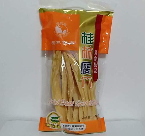 【桂林腐竹】湯葉 ゆば 棒ゆば 大豆製品 乾燥フチク ヘルシー 業務用 170g×5点
