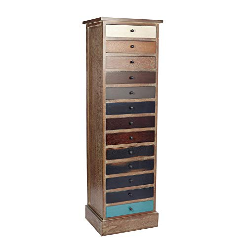 Melody Maison Tall 13 Drawer Chest of Drawers - Loft Living Range