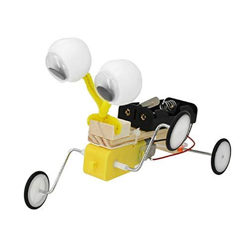 FTVOGUE Kinder Versammlungs pädagogisches Spielzeug handgemachtes Reptil elektrisches Wissenschafts Handwerk DIY Invention Kit