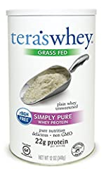 One serving contains 22 grams of unsweetened grass fed whey protein, all 9 essential amino acids and 5.45 grams Branched Chain Amino Acids (BCAAs) Our whey protein is locally sourced from small family farms in Wisconsin, the dairy heartland of Americ...