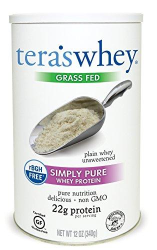 Tera's Whey Protein, Plain Unsweetened, 12 oz