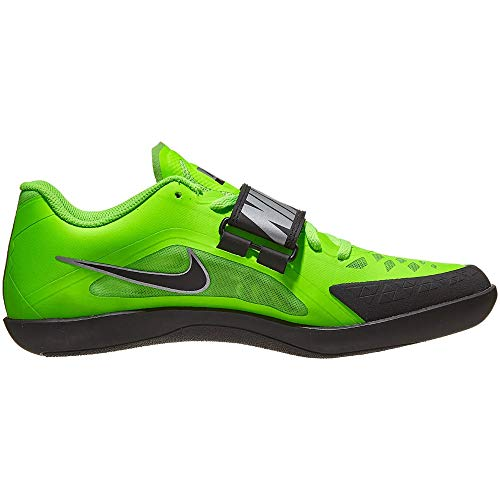 Nike Zoom Rival SD 2 Track and Field Throwing Shoes, 685134-300 (Electric Green/Black, 10.5)