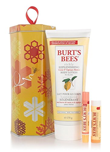 Burt's Bees Naturally Gifted Collection, 3-Piece Gift S