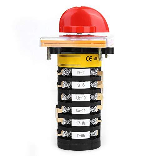 Interruptor de cambio de 3 posiciones - T-16EXF64D-6 Selector de interruptor de cambio universal de leva giratoria de 8 posiciones para fresadora