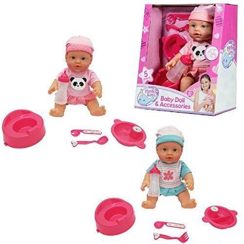 Kiddoo- Muñeca Que Bebe y Hace Pipi (Beeusaert-Braet 40027021)