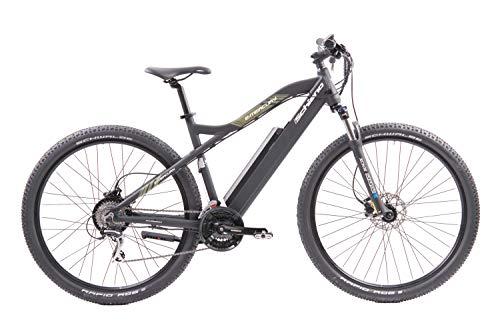 F.lli Schiano E- Mercury Bicicleta, Adulto Unisex, Negra, 29 ''