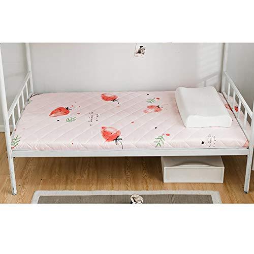 ZUSFUL Floor Mattress for Adults Thicken Futon Tatami Cushion Mattress Floor Mat Floor Couches Mattress for Boys Girls Dormitory 90x190cm,A,150×200cm