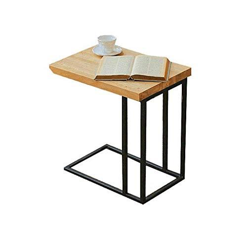LSX - salontafel kleine salontafel, een paar bedden aan de zijkant van de bank, een paar zitplaatsen, een paar telefoontafels, een paar industriële wind retro houten kleine vierkante tafel. bijzettafel