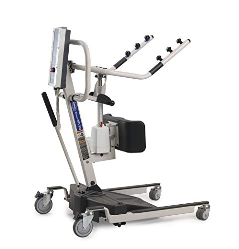 Invacare Reliant Battery Powered Stand-Up Patient Lift with Manual Low Base, 350 lb. Weight Capacity, RPS350-1
