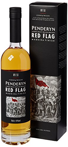 Penderyn Distillery Red Flag Madeira Cask Whiskey (1 x 0.7 l)
