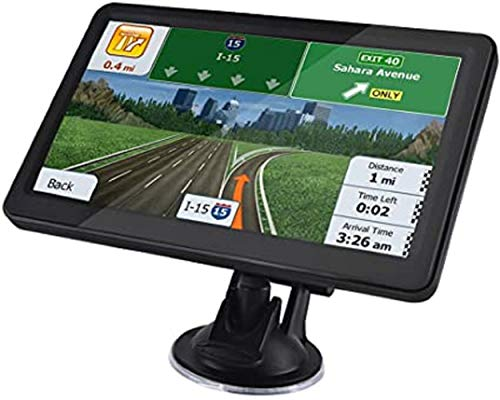 Navegador GPS para Automóvil, Navegador GPS para Automóvil de Camión de 5 Pulgadas, Dispositivo de Navegación, con Navegación por Voz Real