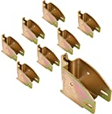 E Track 1845 Beam Socket for Cargo Control, Shelf Brackets, Lofts Inside of Trailers - 8 Pack