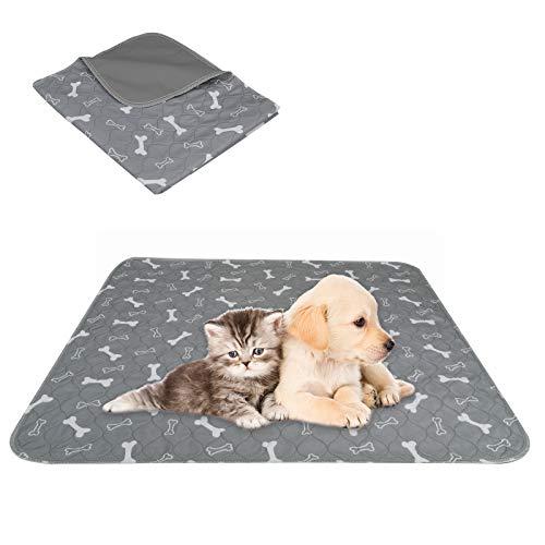 NC Tapis d'entraînement imperméable et réutilisable pour chien - Tapis d'entraînement pour chiot - Tapis lavable pour animal domestique - Coussinets d'entrainement absorbants