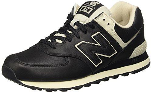 New Balance 574, Zapatillas para Hombre, Negro (Black), 41.5 EU