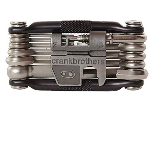 Crankbrothers Multifunktionswerkzeug 17 Multitool Multi Werkzeug 17 Funktionen, CBM17, Farbe grau