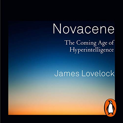 Novacene audiobook cover art