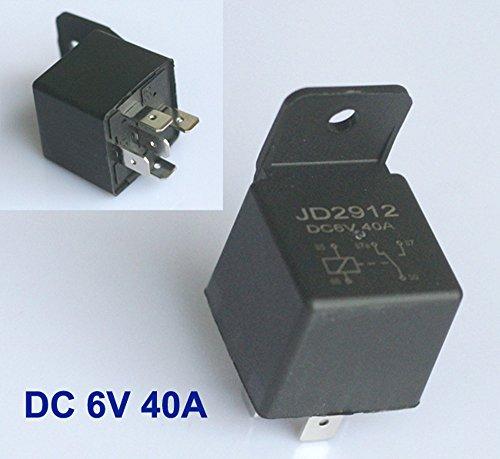 Relais 6V 6 Volt 40A Schliesser NO KFZ Arbeitsstromrelais Schaltrelais 5 pin