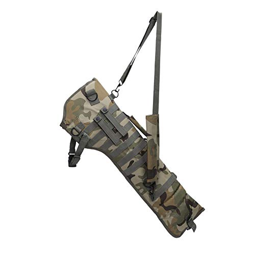 YFGRD 29in Gewehr tragen Rucksack Tactical Pistol Scabbard MOLLE Gewehrriemen Fall Lange Tasche für die Jagd CS Airsoft,Cp,73cm(29in)