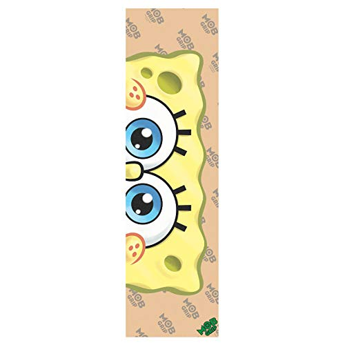 Santa Cruz Spongebob Eyeballs Grip Skateboard Griptape One Size Clear