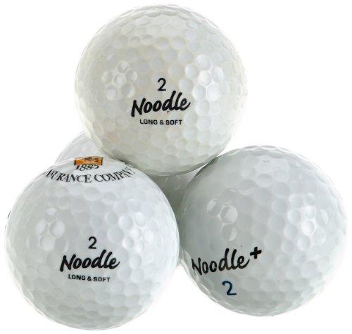 Second Chance Golfbälle Maxfli Noodle 100 Premium Grade A, Weiß, VAL-100-MAX-NO
