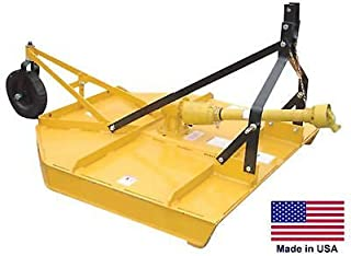 Streamline Industrial FIELD & BRUSH MOWER Rotary Cutter - 3 Point Hitch Mounted - PTO Driven - 48