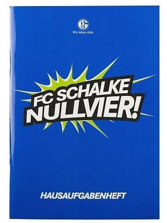 FC Schalke 04 Hausaufgabenheft
