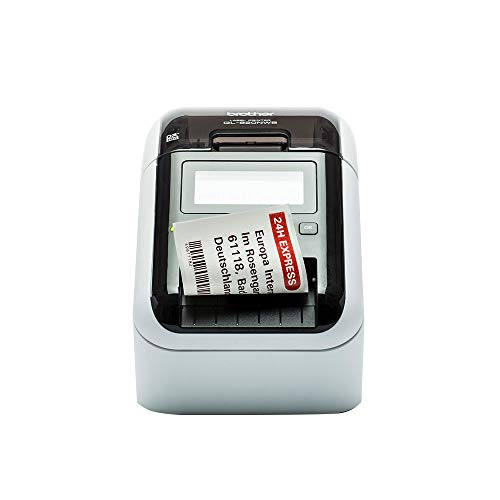 Brother QL-820NWB Label Maker, Wireless/USB 2.0/Network/Bluetooth, Address Label Printer, Desktop,...