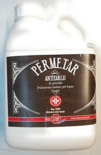Dixi Antitarlo Elimina il tarlo dal legno e insetti perforatori Anti Tarlo Legno - 5 litri