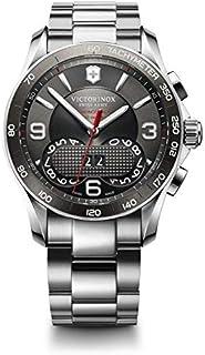 Victorinox Swiss Army 241618 Chrono Classic SS Grey Dial Watch for Men