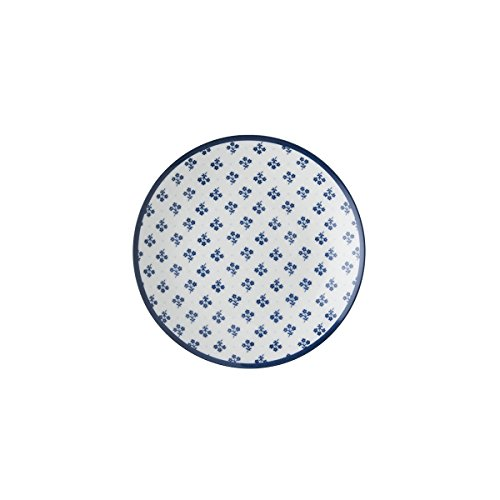 Laura Ashley - Platos, platos de entrante, platos de postre - Petit Four - Blueprint Petit Fleur - Diámetro de 12 cm.
