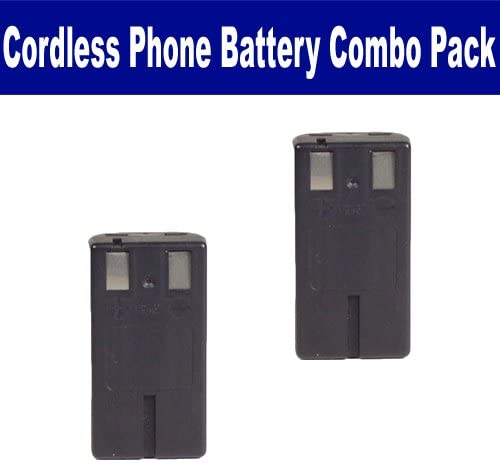 AT&T-Lucent 5840 Cordless Phone Combo-Pack Includes: 2 x BATT-2431 Batteries