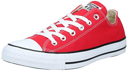 Converse Chuck Taylor All Star Ox, Zapatillas Unisex Adulto, Rojo (Red), 41 EU
