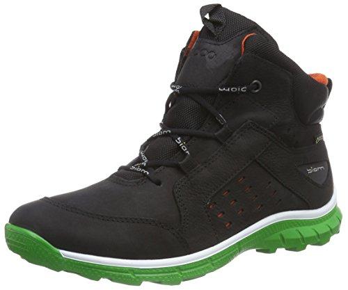 ECCO Jungen Biom Trail Kids Outdoor Fitnessschuhe, Schwarz (Black/Meadow 58115), 30