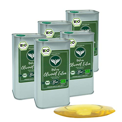 Azafran BIO Olivenöl extra Nativ aus Spanien Kanister 5L