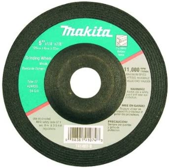 Makita 741407-B-25 Today's only 5-Inch Wheel Grinding 25-Pack Bombing new work