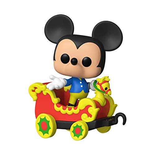 Funko Pop! Disney: Casey Jr. Circus Train Ride - Mickey Mouse in Car Vinyl Figure